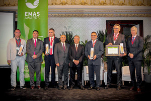 WIEGEL Group receives honorable price at the European EMAS-Award 2017 for significant environmental reliefs